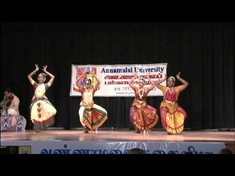 Annamalai Arts Festival 2011 - Bharathanatyam Performance: Varnam in HD