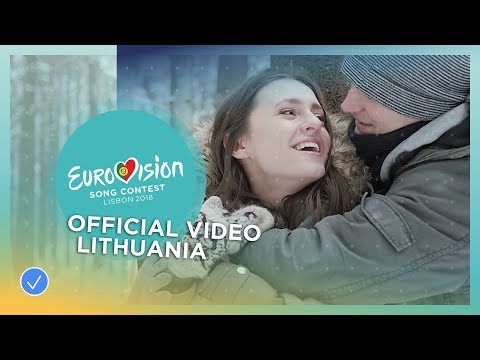 Ieva ZasimauskaitÄ— - When We're Old - Lithuania - Official Music Video - Eurovision 2018
