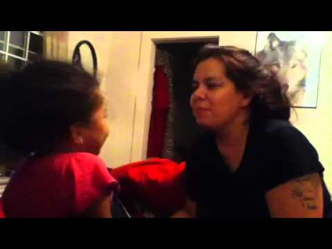 Mother Daughter Slap Fest! video