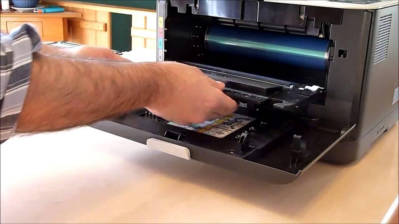 Samsung clp-365w заправка своими руками 29