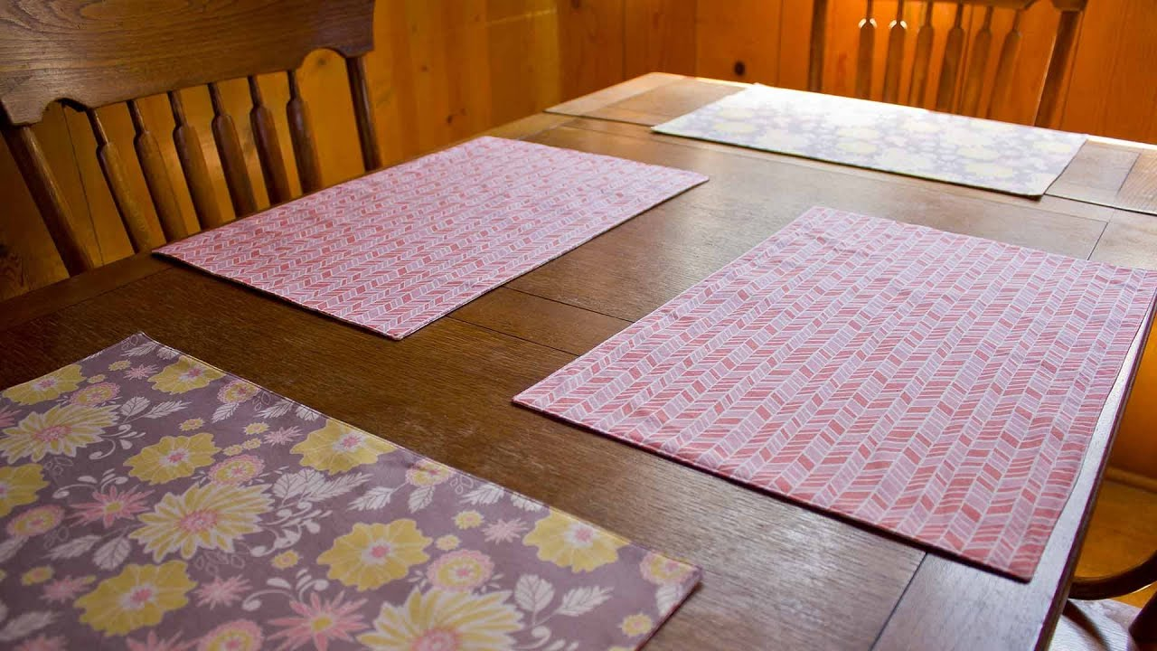 Make placemats from photos