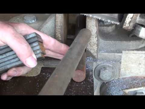 Machine Shop Tips #41 Part 2 Horizontal Bandsaw tubalcain