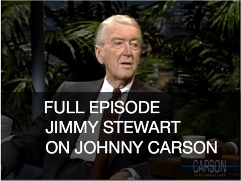 JOHNNY CARSON FULL EPISODE: Jimmy Stewart, Bob Saget, Tonight Show 1-4-89