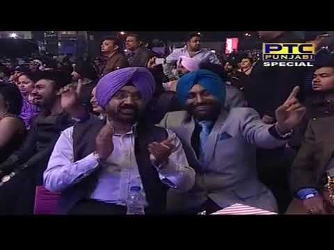 Amrinder Gill & Binnu Dhillon's Dance Performance | Ptc Punjabi Film Awards 2014 video