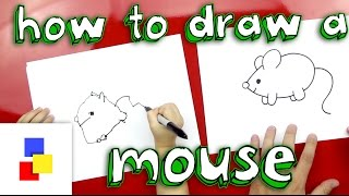 How To Draw A Mouse (for super young artists)