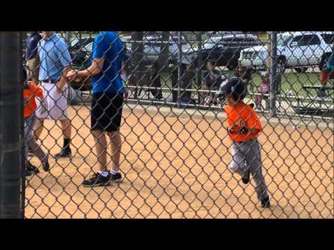 Giants Baseball 06-13-2015  Gavin hits a home run!