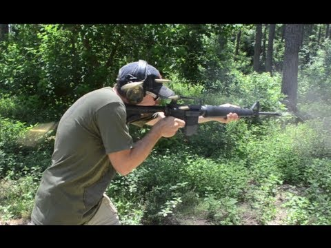 .458 SOCOM FULL AUTO M16 vs .223/5.56mm
