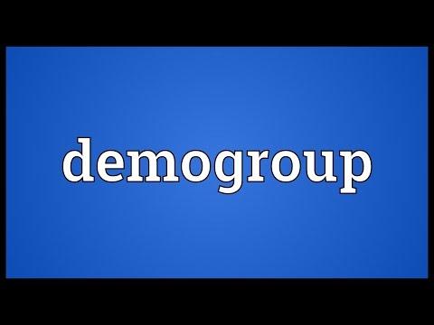 Header of Demogroup