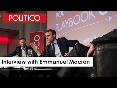 Emmanuel Macron on building political consensus