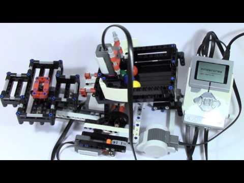 Mindstorms EV3 Ball Color Sorter Part 3
