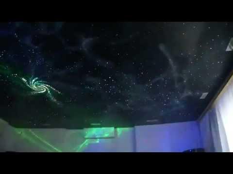Звездное небо натяжной потолок. Это фантастика!!!!