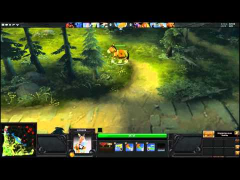 How to use the Courier in DOTA 2