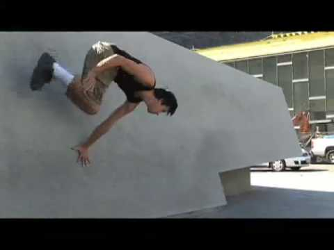 Parkour Los Angeles on Mahalo Mondays