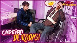 ELE ESTÁ NA CADEIRA DE RODAS!! - VIDA DE ADOLESCENTE #72 [ REZENDE EVIL ]