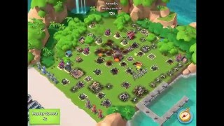 Boom Beach — playing with kenetic, JessieZX7, [PH] Alliance on boosted ice bases