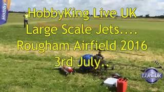 Hobbyking Live 2016 Rougham Airfield Large Scale Jets  Vampire, Typhoon & Scorpion