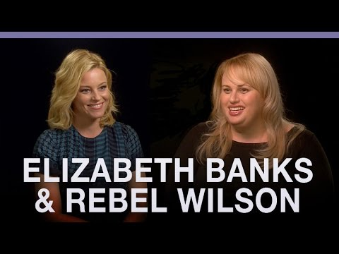 Who's the bigger Pitch Perfect fan? Elizabeth Banks or Rebel Wilson?