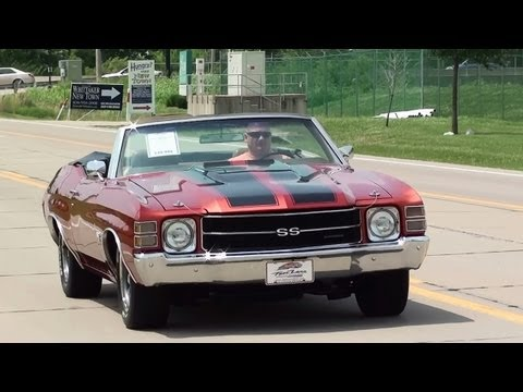Test Driving 1971 Chevrolet Chevelle SS 454 Big-block Convertible