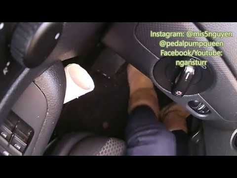 PEDAL PUMPING MANUAL IN UGGS PART 4