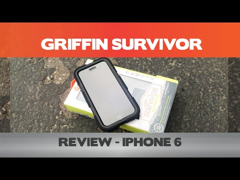 Griffin Survivor Review - This case ensures your iPhone 6 survives through your day-to-day life!