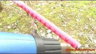 Применение термоусадочной трубки - усадка на ручку спиннинга