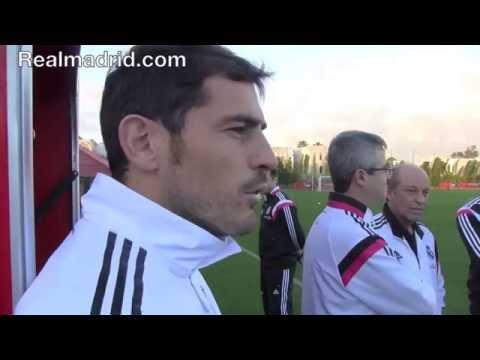 BEHIND THE SCENES: Impresionante exhibición de memoria de Iker Casillas