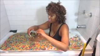 Glozell cereal challenge (suprise in the middle)