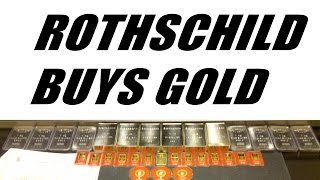 Rothschild Buys GOLD and Sells U.S. Dollar to Prepare for Collapse!