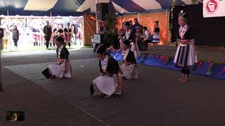 Tradition Dance Group Dancing At Hmong New Year In Stevens Point, WI