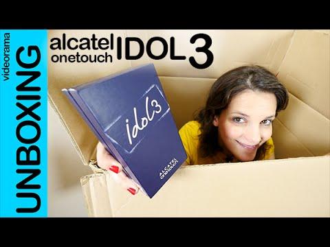 Alcatel onetouch Idol 3 unboxing en español
