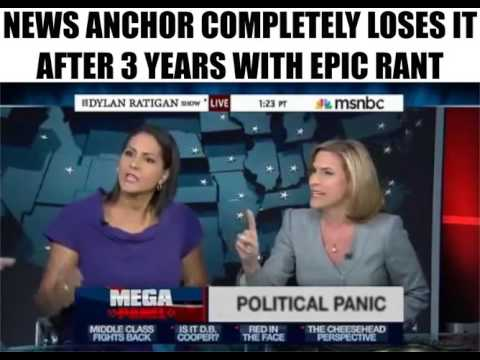 News Anchor Loses It After 3 Years With Epic Rant