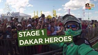 Stage 1 - Dakar Heroes - Dakar 2017