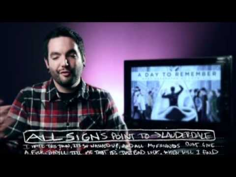 A Day To Remember- What Seperates Me From You-Track by Track Commentary By Jeremy McKinnon Music Videos