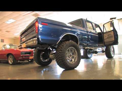 1978 Ford Crew Cab 4X4 Show Truck FOR SALE HD HI DEF