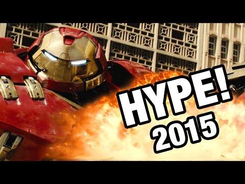 Las 12 películas más hypeadas del 2015