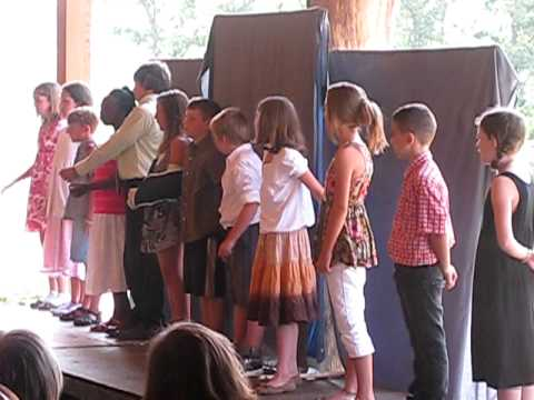 """Charlottesville Waldorf School 4th Grade peforms """"Gino's Pizza"""""""