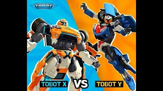 Unboxing Tobot X  Toys Robot Cars Transformers Tobot Titan:))) Amazing Colection toys,