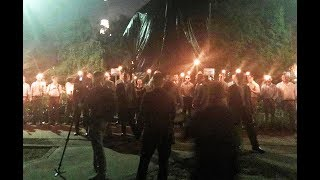 Alt-Right 'Flash Mob' Appears In Charlottesville