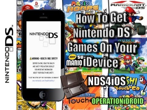 NDS4iOS: Nintendo DS Emulator for iOS (NO COMPUTER) iPhone.iPad & iPod Touch