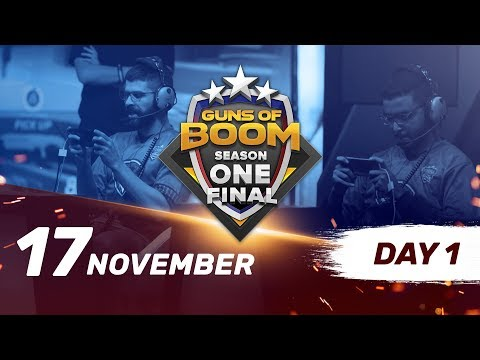 Guns of Boom ESL Season One Final. Day 1