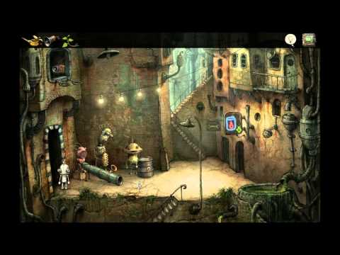 Let's Play Machinarium - 003 What the hell is sunflower oil?