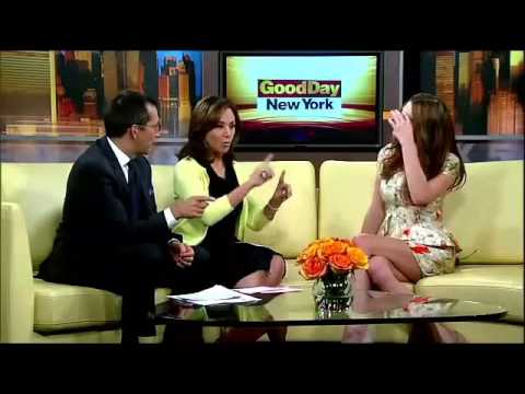 Ashley Greene no programa Good Day NY