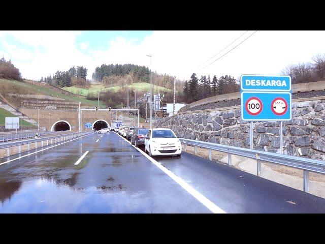 Deskargako tunela inauguratu dute. 2015 martxoa