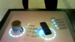 iTable - an interactive multi-touch table