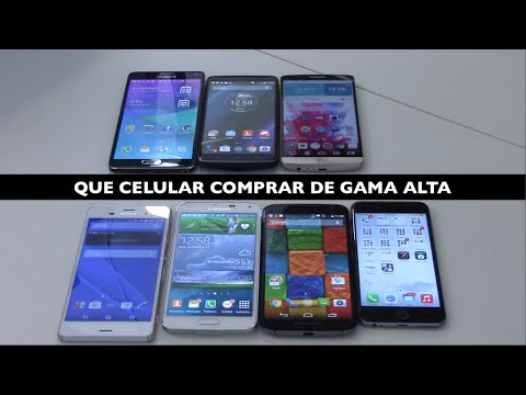 Que celular Comprar Note 4, Droid Turbo, Moto X 2, G3, iPhone 6, Xperia Z3, Galaxy S5