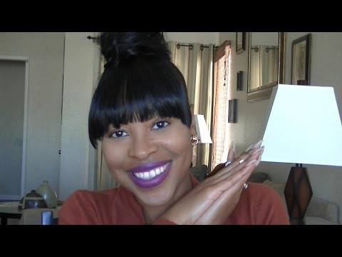 Bun & Bangs tutorial w/ extensions