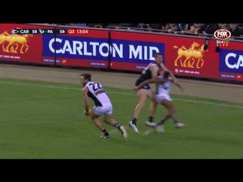 Round 8 AFL Highlights - Carlton v Port Adelaide