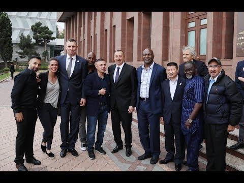 Конвенция Всемирного Боксерского Совета (WBC)  в Баку. Программа Бокс  в лицах