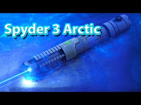 Spyder 3 Arctic Laser Pen- Most Powerful Laser Pen 1.000mW