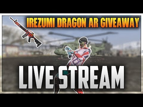H1Z1 KING OF THE KILL - COLADA COLOSSEUM - AR-15 SKIN GIVEAWAY!